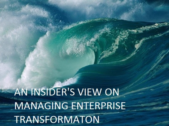 Tsunami of ERP Transformation