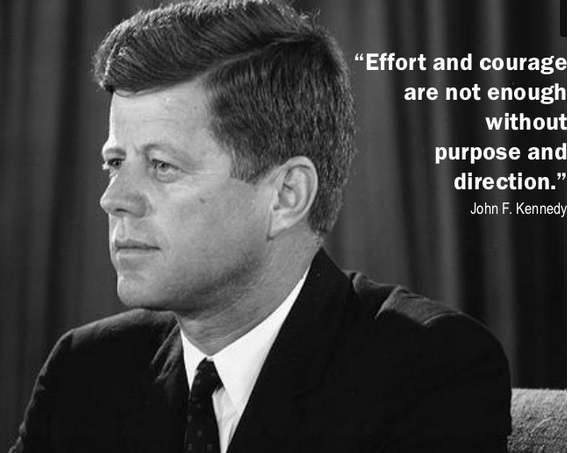 John F Kennedy Quote on Change